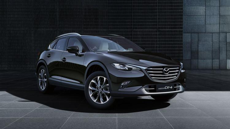 2016 Mazda CX-4 parked