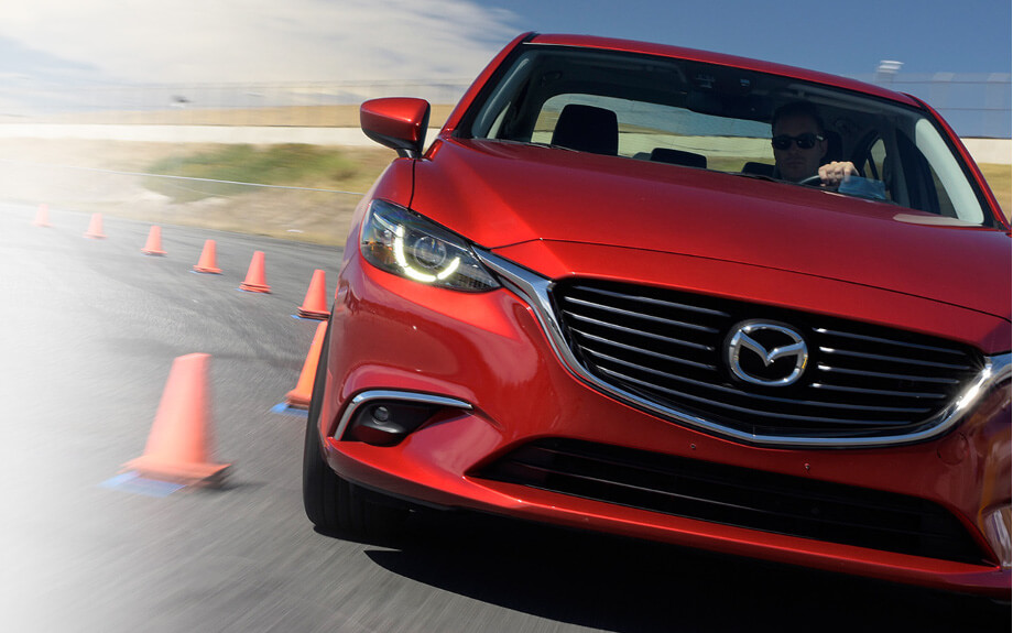 2017 Mazda6 on track