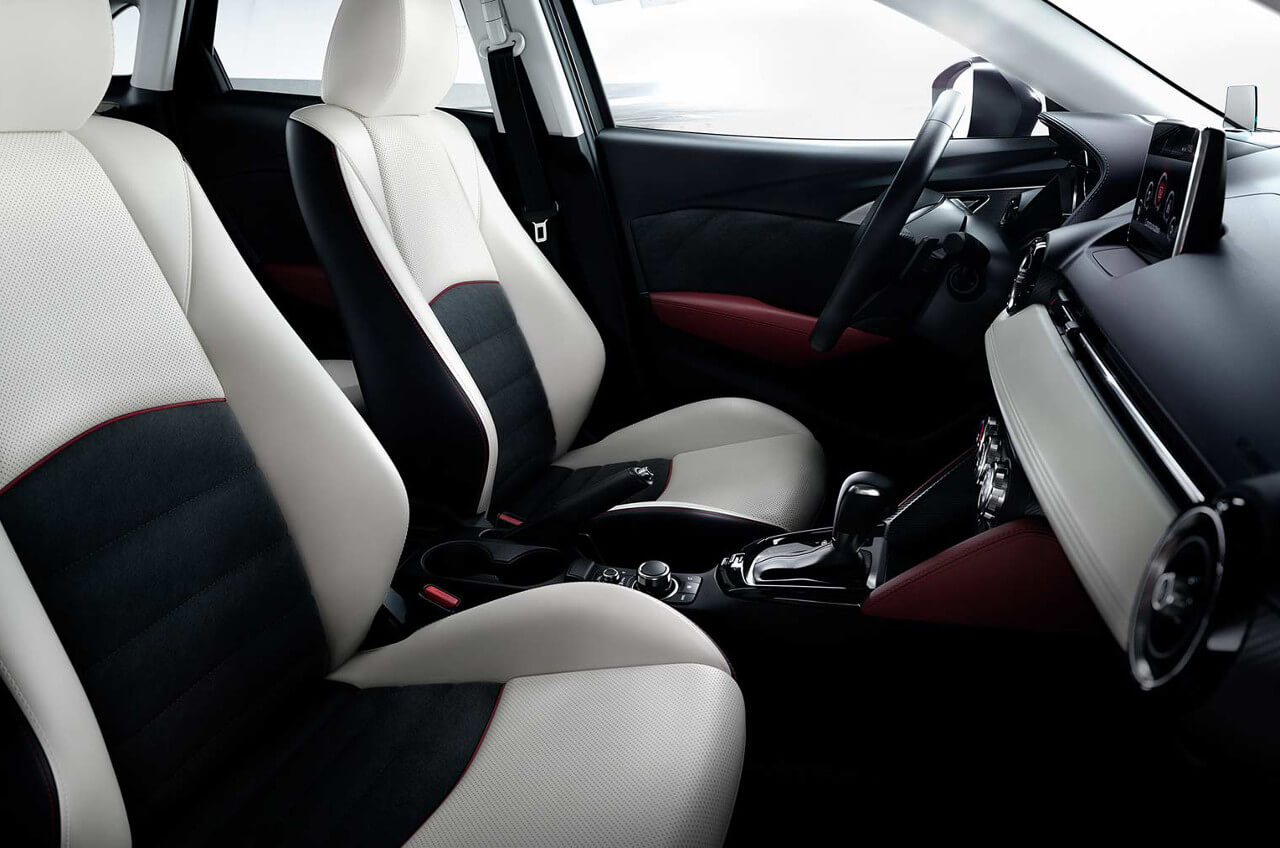 2017 Mazda CX-3 interior cabin