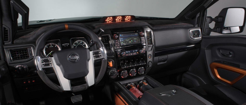 2016 Nissan Titan Warrior interior