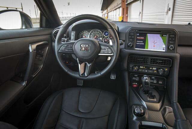 2017 Nissan GT-R cockpit