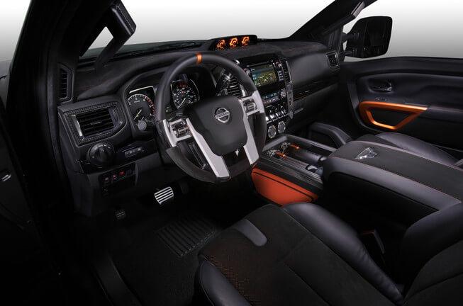 2016 Nissan Titan Warrior interior