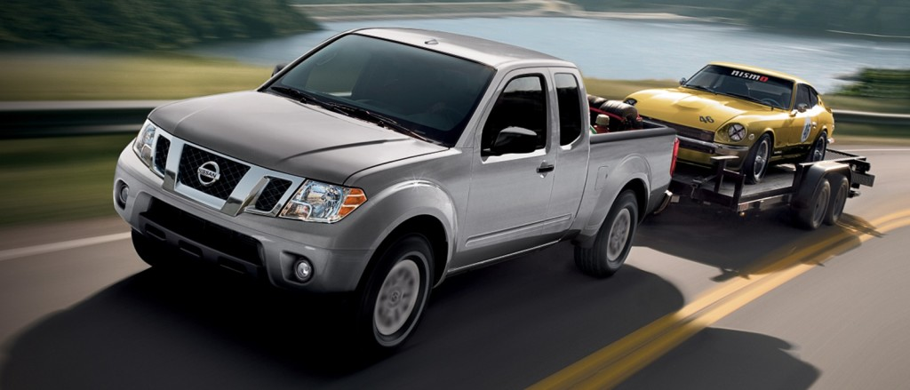 2016 Nissan Frontier towing