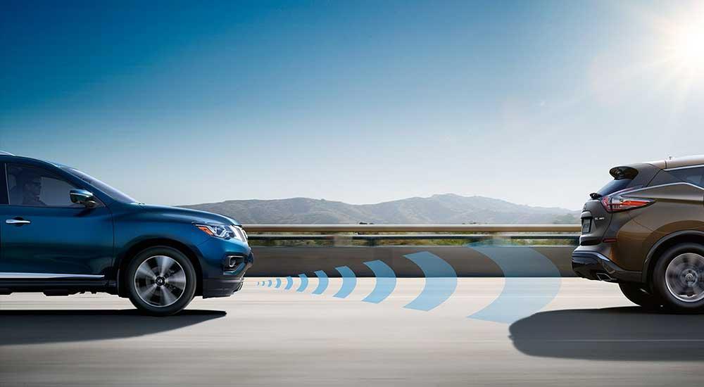 2017 Nissan Pathfinder technology sensor