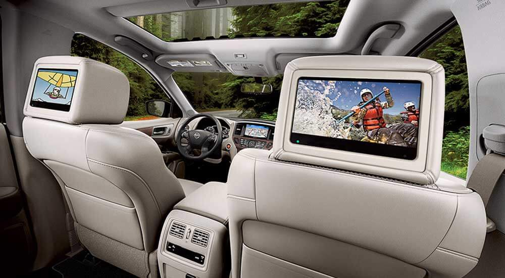 2017 Nissan Pathfinder technology