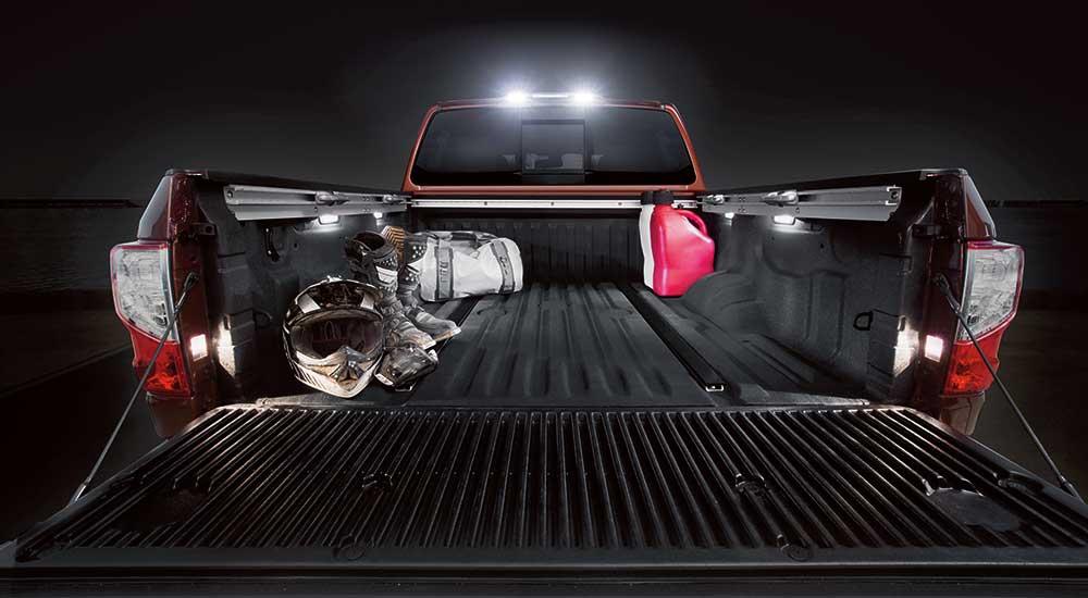 2017 Nissan Titan truckbed