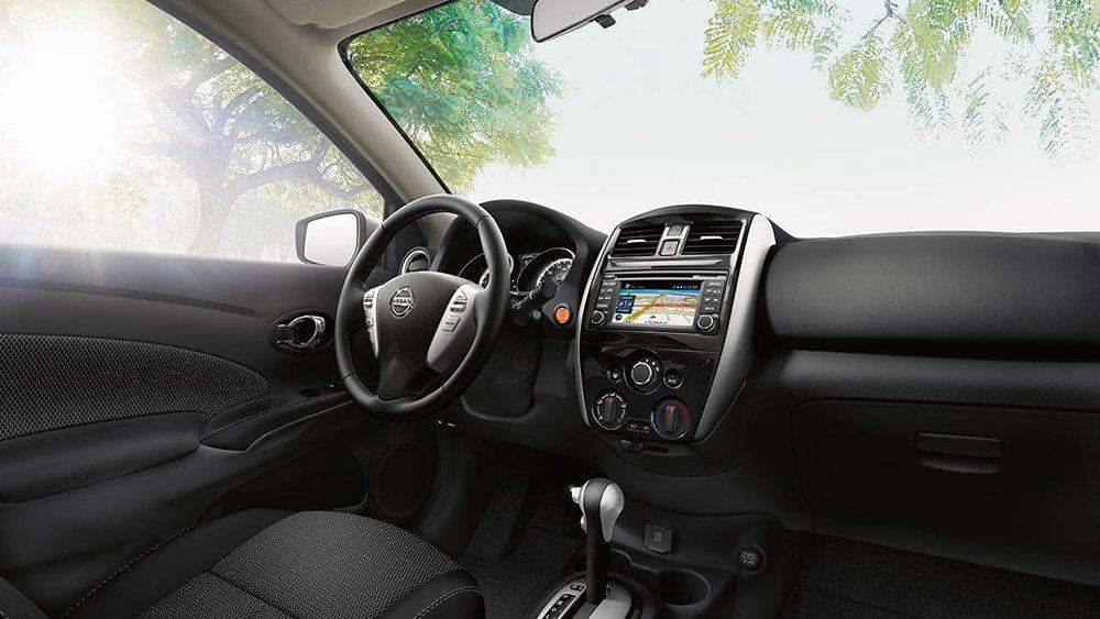 2017 Nissan Versa interior