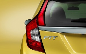 2016 Honda Fit taillight