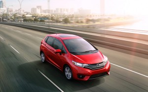 2016 Red Honda Fit