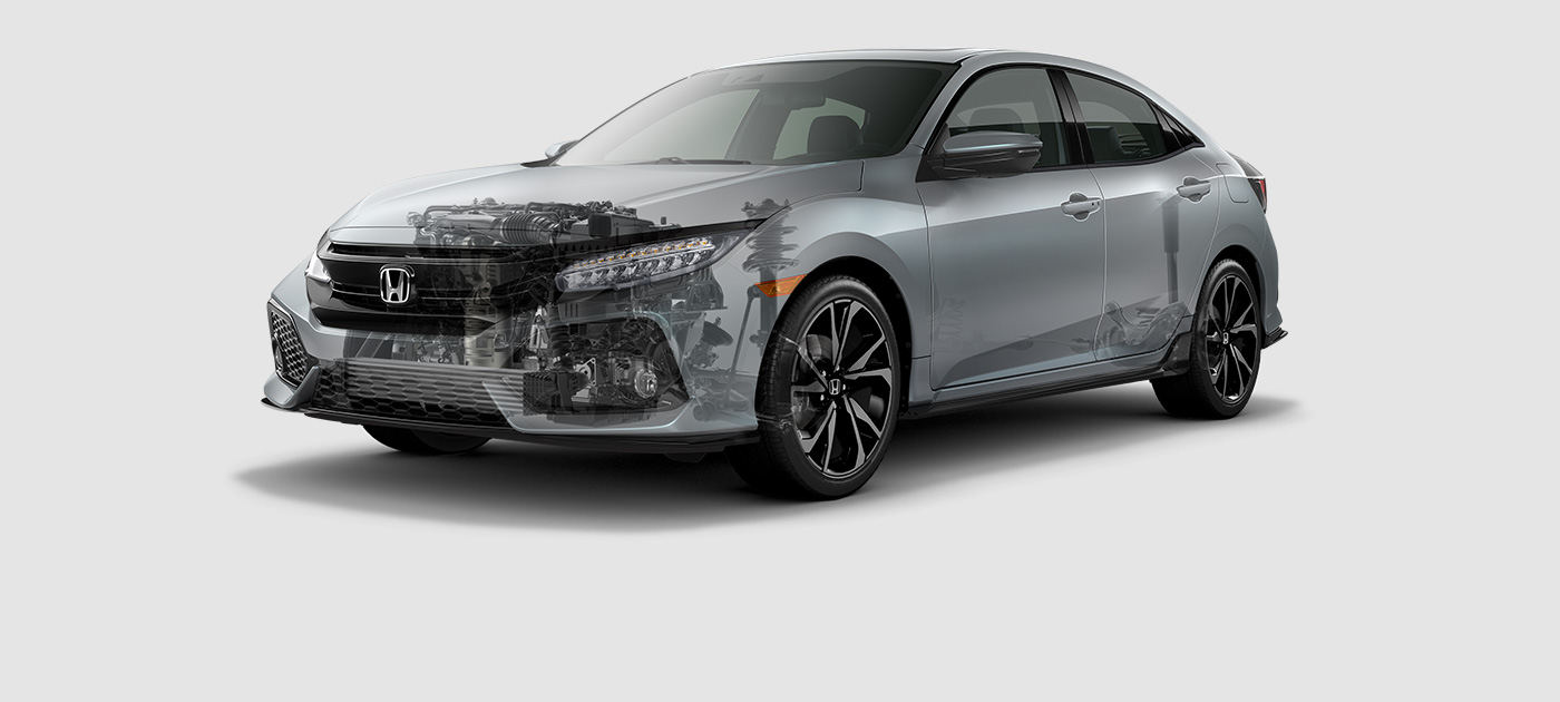 2017 Honda Civic Hatchback Engine