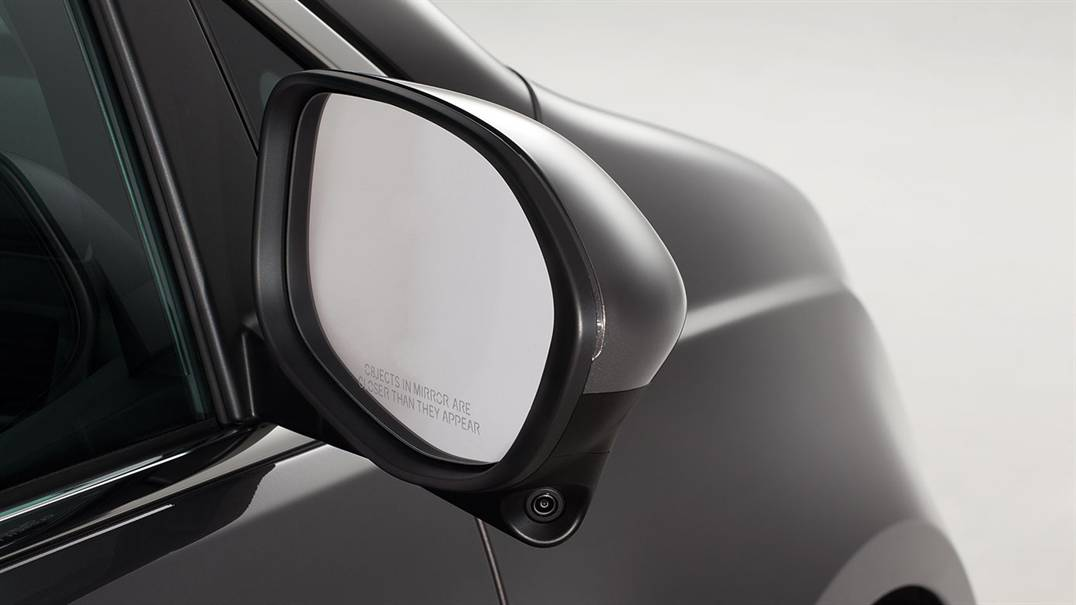 2017 Honda Odyssey lanewatch camera on side mirror