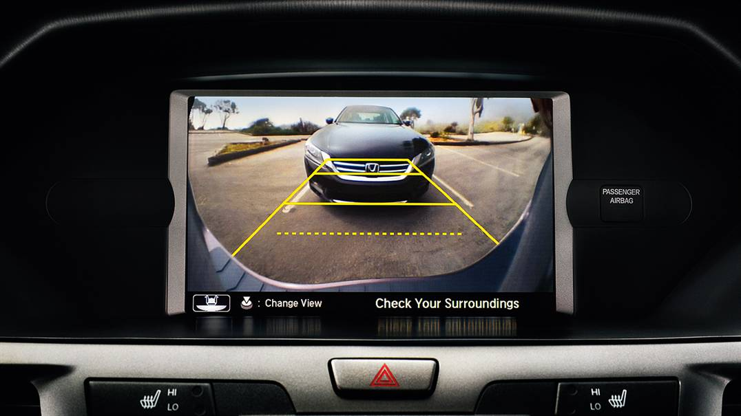 Honda Odyssey Rearview Camera
