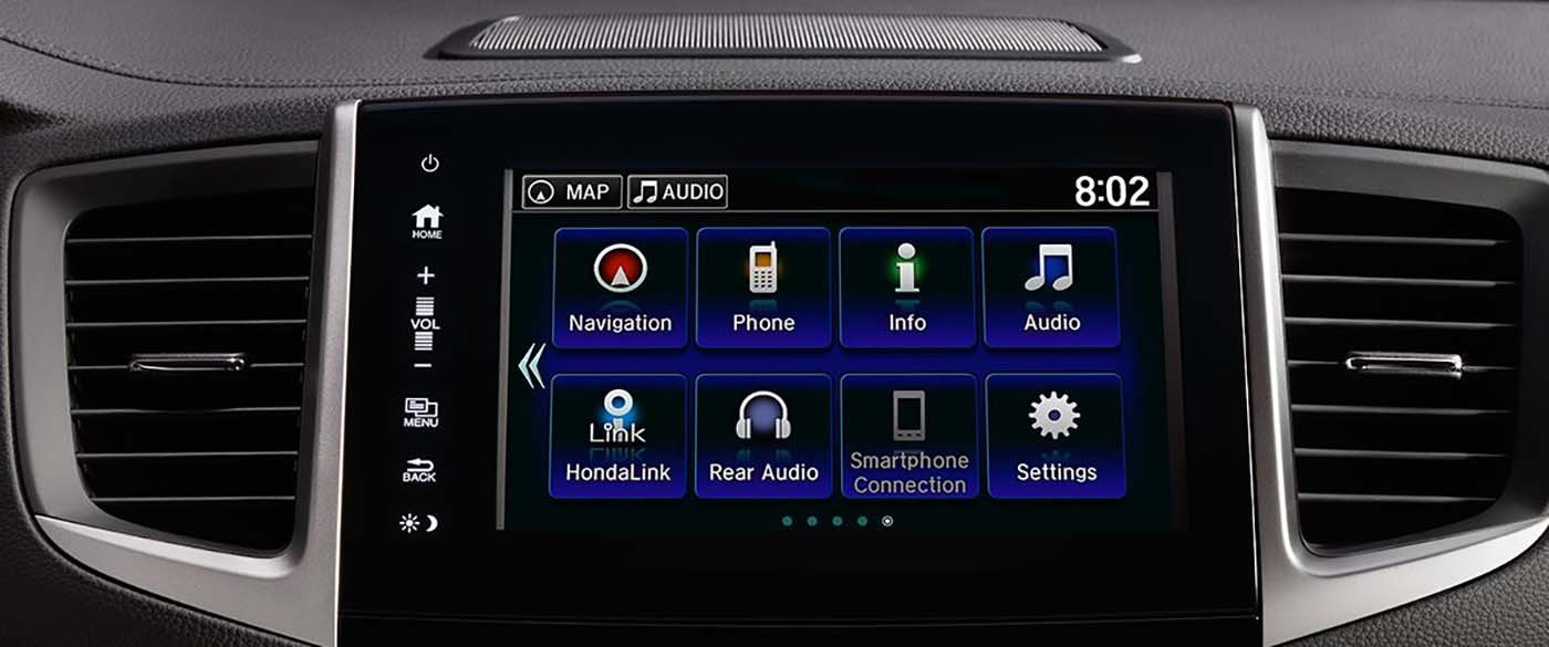 Honda Pilot Display Screen & Radio Options
