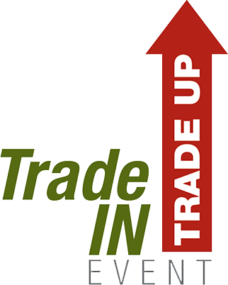 Trade In Trade Up Event Logo