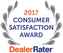 DealerRater 2017 Consumer Satisfaction Award