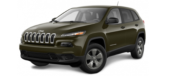 2015 Jeep Cherokee features