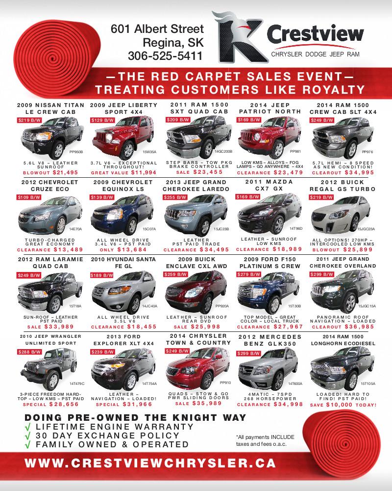 Crestview Chrysler News Paper add