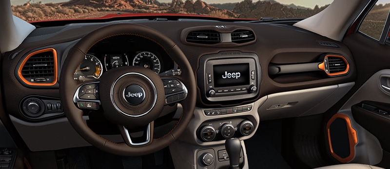 2016 Jeep Renegade Interior Features