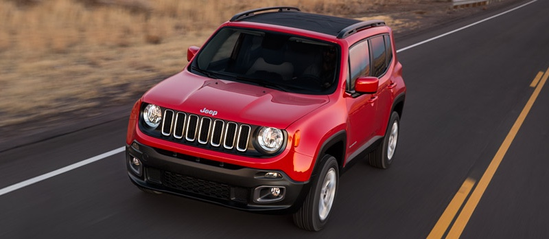 2016 Jeep Renegade red exterior