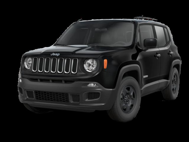 2016 Jeep Renegade dark exterior