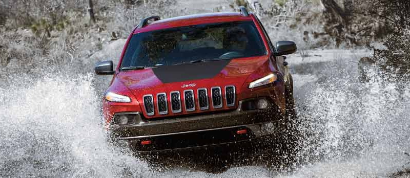 2016 Jeep Cherokee features