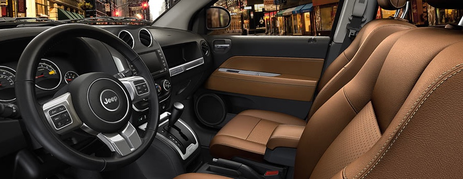 2016 Jeep Compass interior features