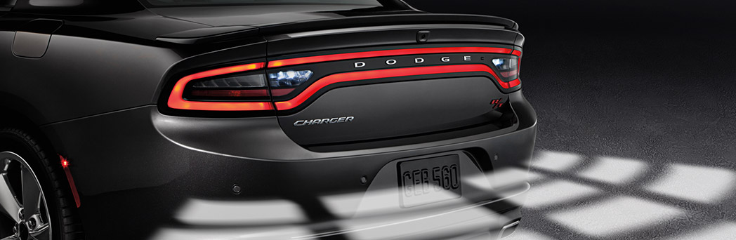 2016 Dodge Charger rear up close