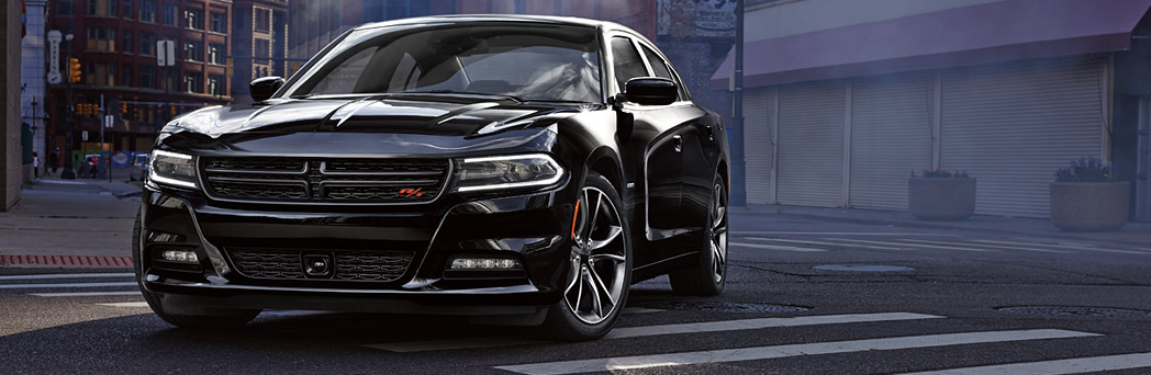 2016 Dodge Charger black exterior