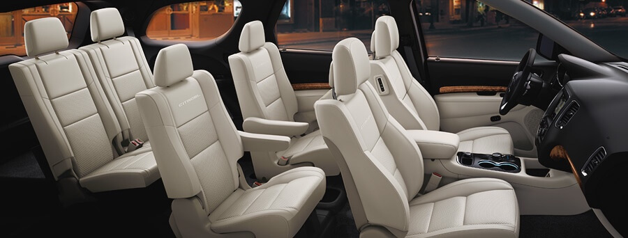 2016 Dodge Durango interior seating