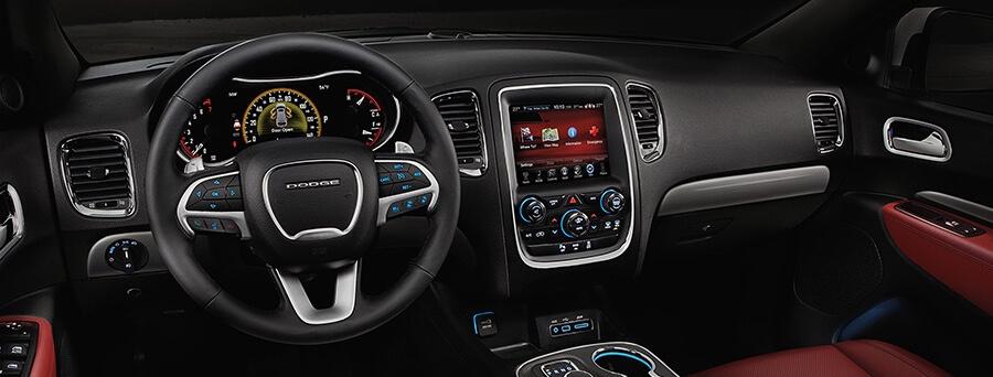 2016 Dodge Durango front interior