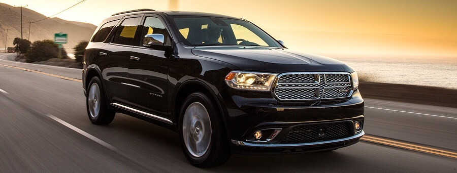 2016 Dodge Durango on the road