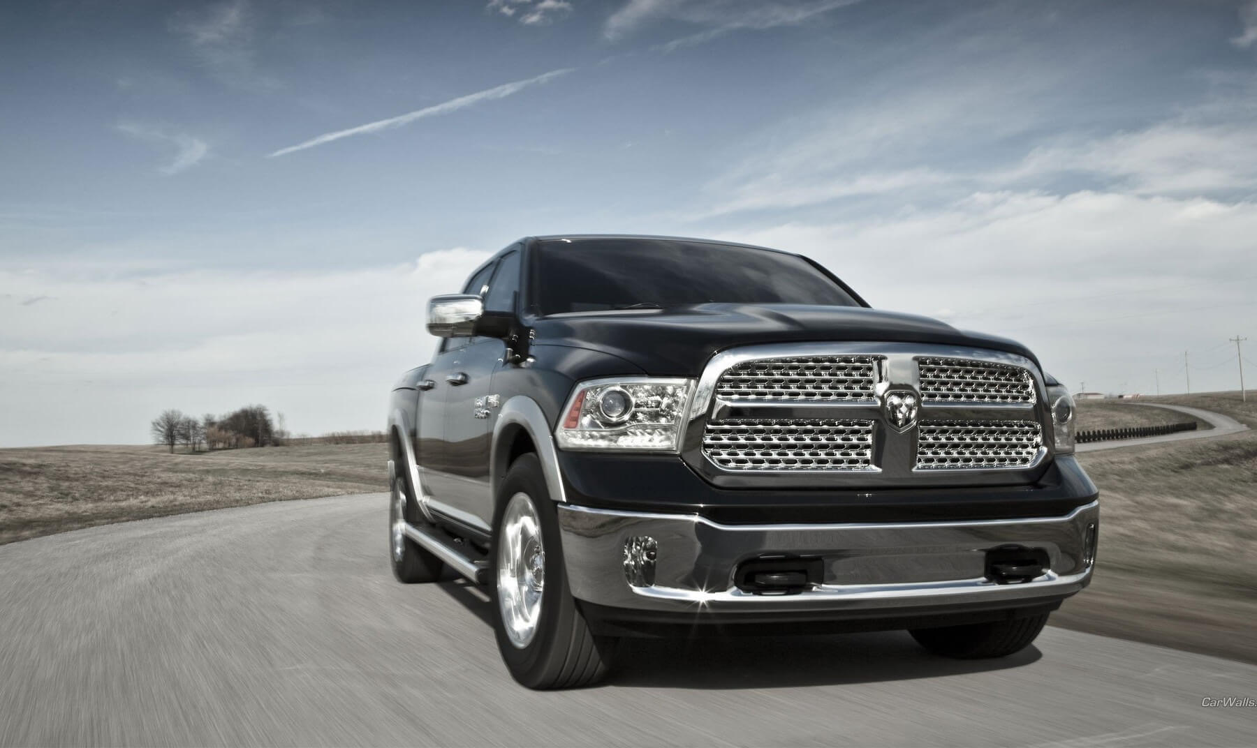 2016 Ram 1500 on the road
