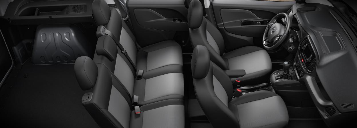 2016 Ram ProMaster City interior seating