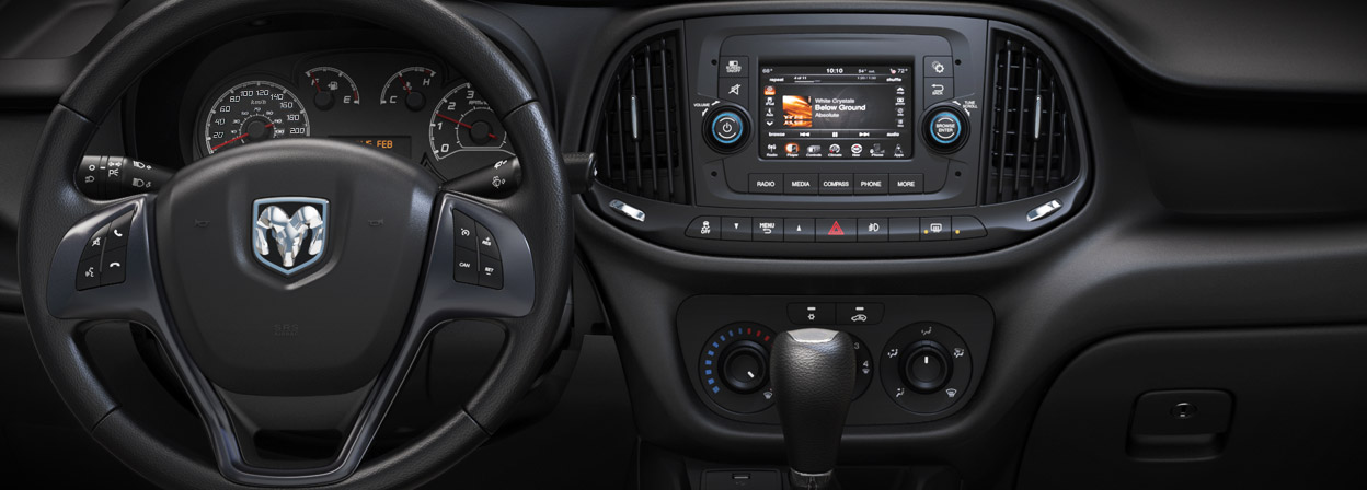 2016 Ram ProMaster City interior technology