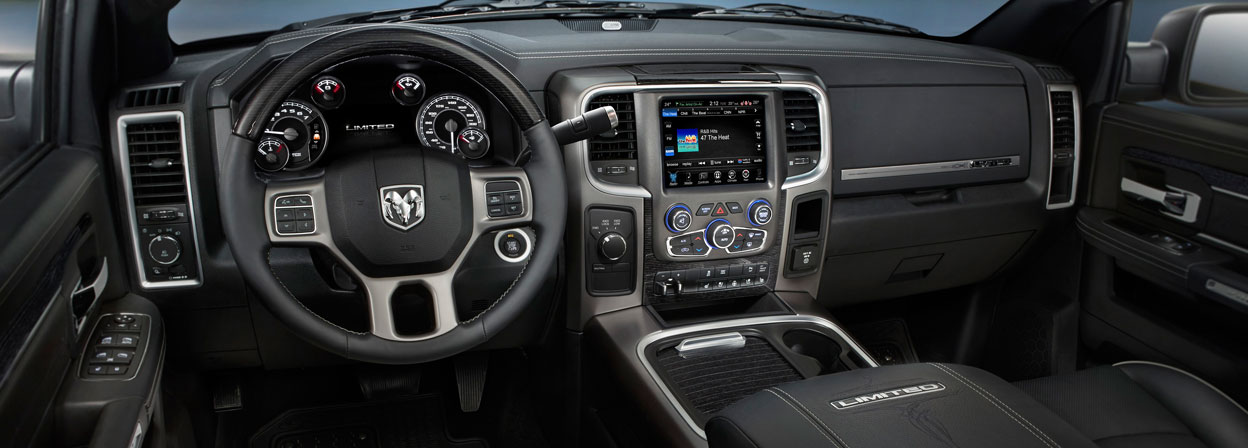 2016 Ram 3500 interior technology features