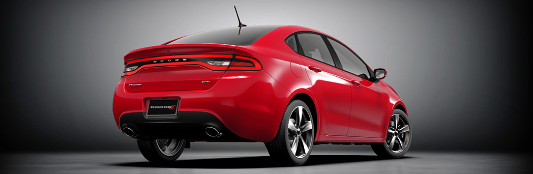 2016 Dodge Dart  rear exterior up close