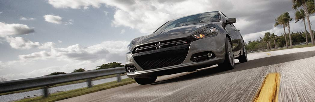 2016 Dodge Dart  on the road