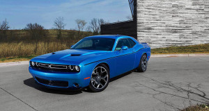 2016 Dodge Challenger blue