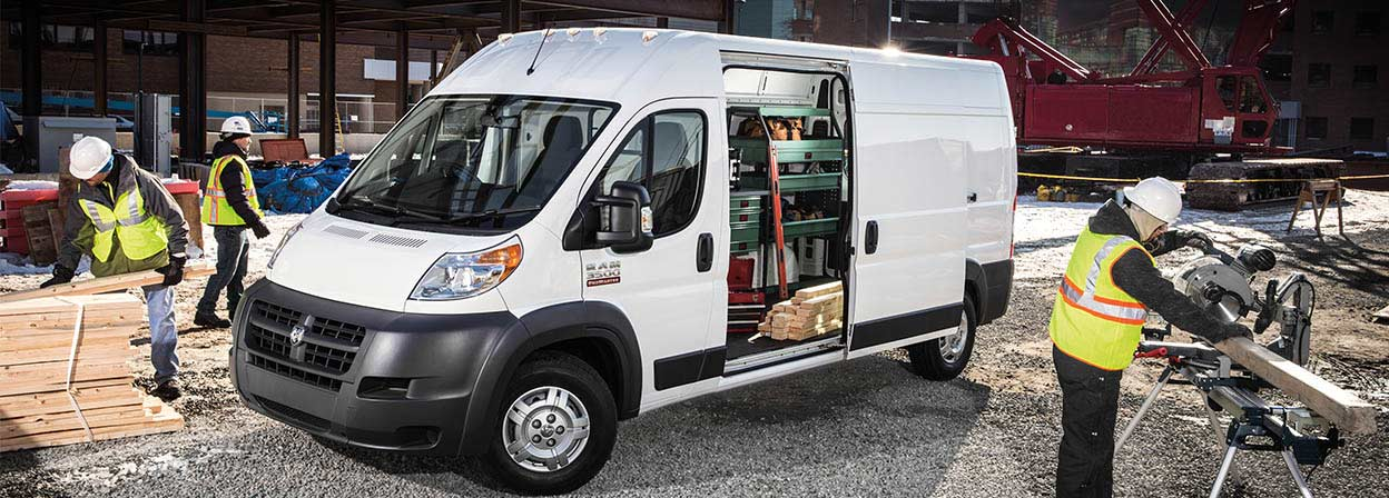 2016 Ram Promaster parked