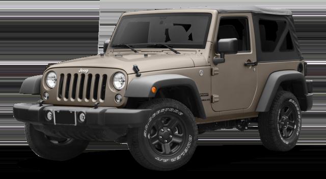 2016 Jeep Wrangler tan