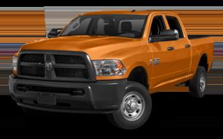 2016 Ram 2500 orange