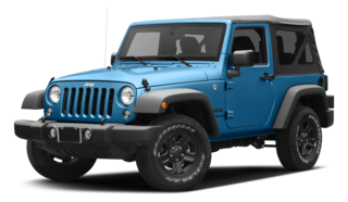 2016 Jeep Wrangler Blue