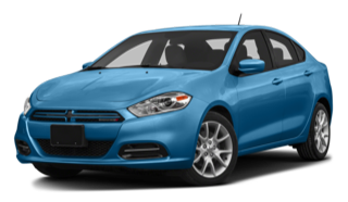 2016 Dodge Dart Blue