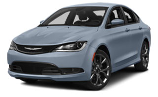 2015 Chrysler 200C Blue
