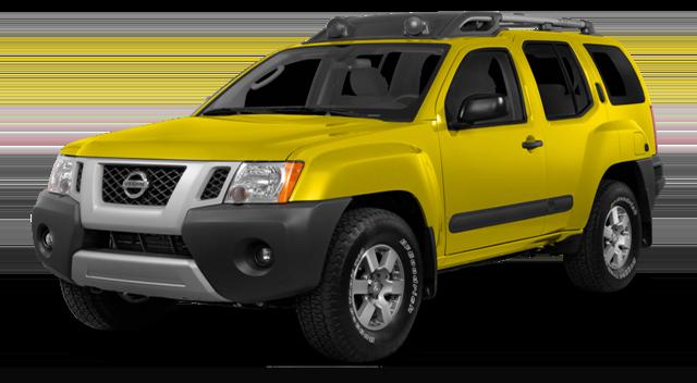 2015 Nissan Xterra Yellow