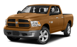 2015 Ram 1500 Quad Cab Orange