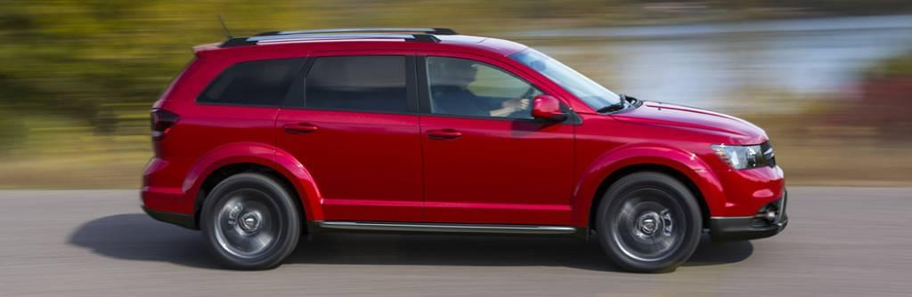 2016 Dodge Journey Red