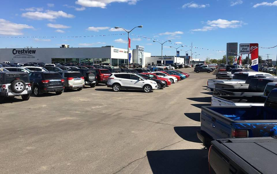 Cars on Lot
