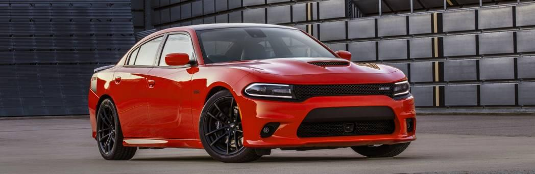 2017 Dodge Charger Red