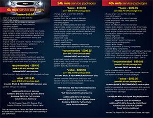 service menu 2